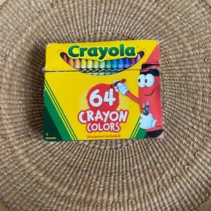 Crayola 64 Crayon Pack Pencil Sharpener Coloring